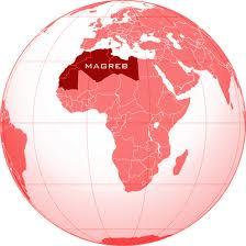 mapa magreb