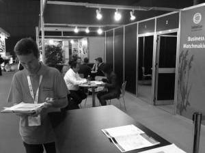 26 fueron las empresas expositoras inscritas  en el servicio de reuniones Matchmaking organizado por ITC para SEAFOOD y ALIMENTARIA Exhibitions.
